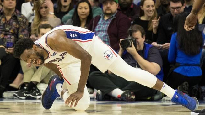 Embiid's Injury Scare Overshadows Sixers' Win