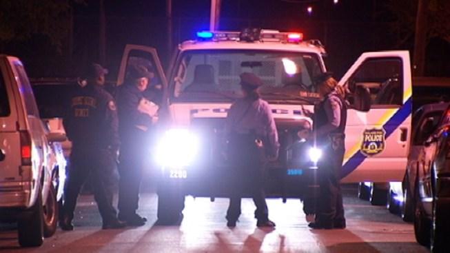 Gunman Shoots at Police Van