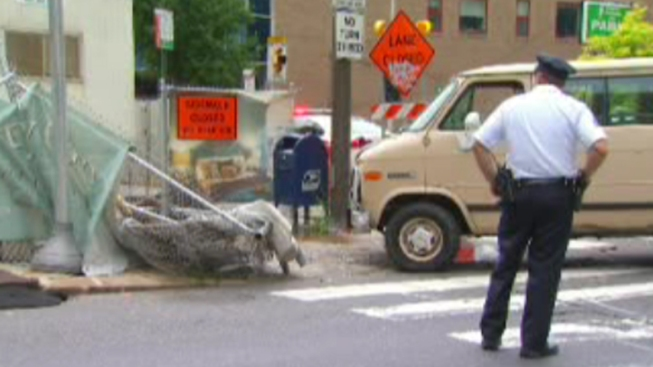 Father, Son Hit By Van in Center City