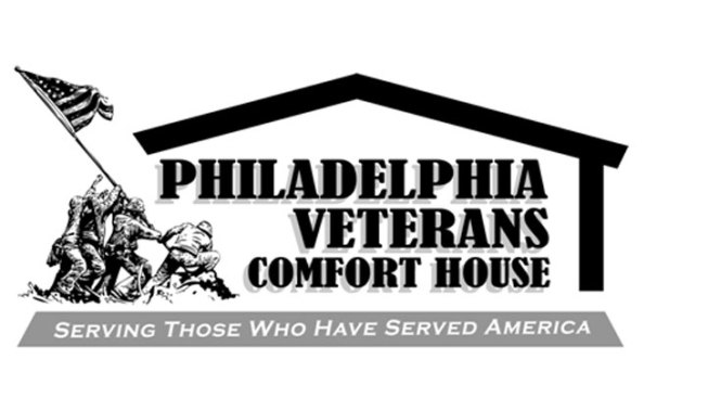Saying Thank You to the Philadelphia Veterans Comfort House.