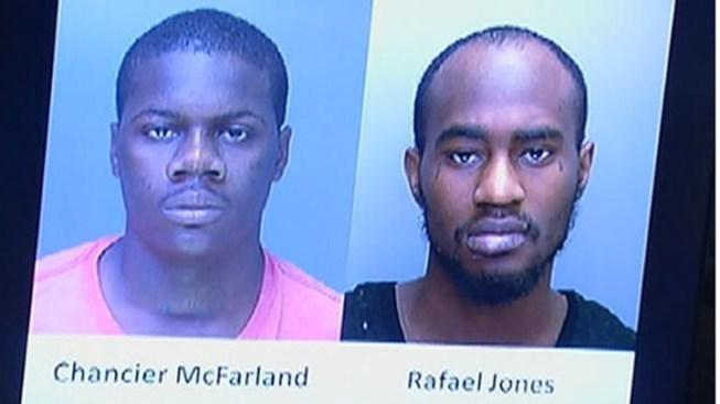 Suspects in Officer Walker's Murder in Court