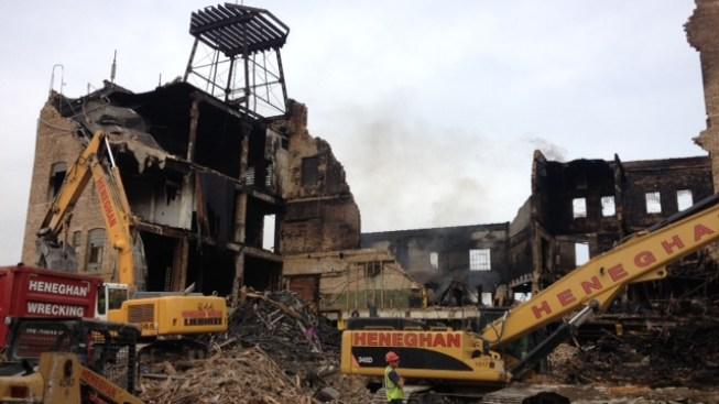3-Alarm Fire Rips Through Quakertown Warehouse
