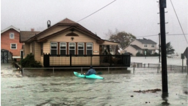 Parts of Atlantic Co. Under 5 Feet of Water: Christie