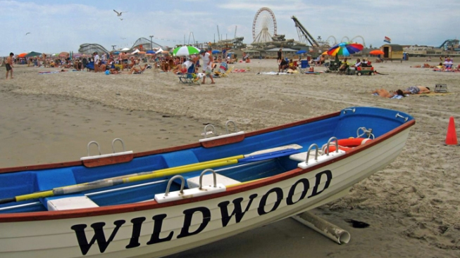 Wildwood Beachgoers to Buck Up, Maybe