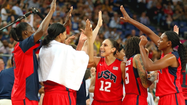 U.S. Women Beat Australia 86-73 in Olympic Hoops