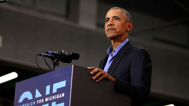 Obama Rips Trump, GOP in Fiery Speeches for Midwest Dems