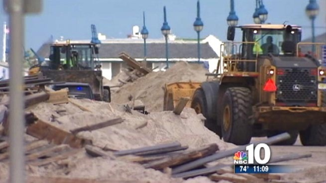State Probes Shore Town's No-Bid Sandy Cleanup Contract