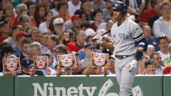 """A-Rod Wishes MVP Stood For """"Madonna's Valuable Player"""""""