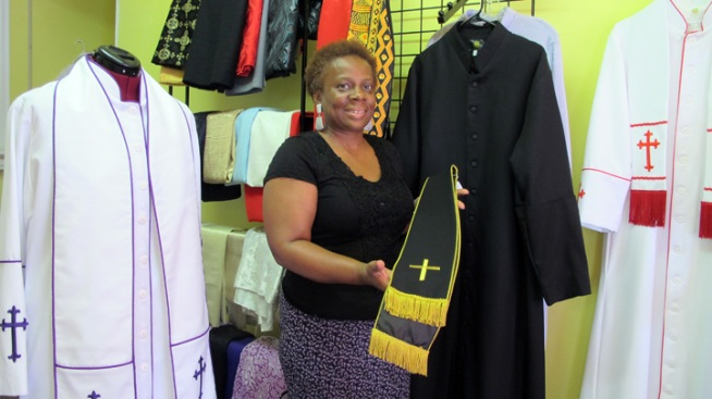 Philly Seamstress Specializes in Ministry Wear