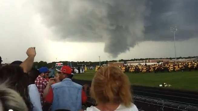 Crazy Cloud Overshadows H.S. Graduation