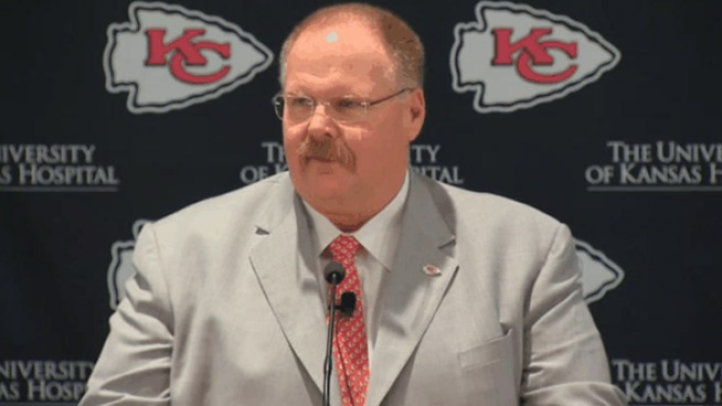Reid: I'm Very Excited to Be a Kansas City Chief