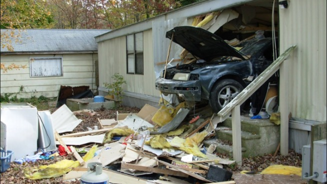 Car Crashes Into Delaware Home