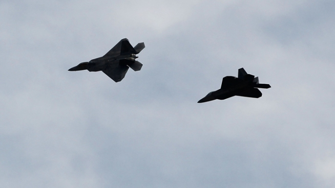 Fighter Jets Intercept 2 Small Planes in NJ