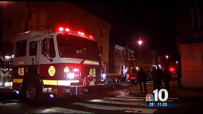 Authorities were alerted just before midnight on Wednesday night of a house fire in South Philadelphia. Two homes and families were affected by the fire and one child is being treated at the Children's Hospital. NBC10's Jesse Gary was in South Philadelphia this morning.
