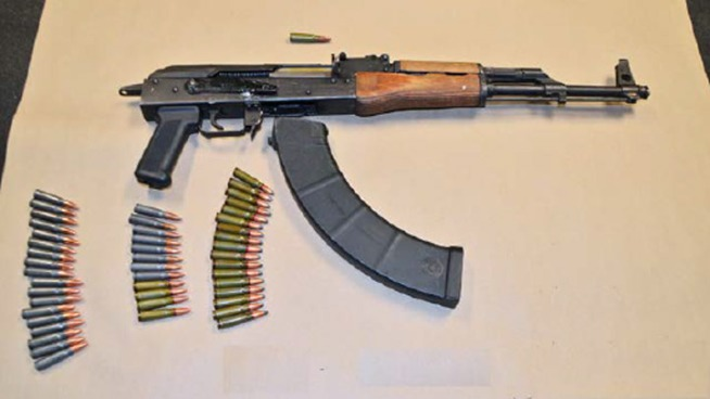 Loaded Assault Rifle Found on Street