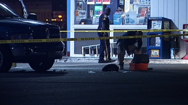 Man Shot, Robbed at Gas Station
