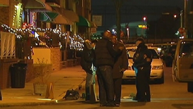 Philadelphia Police are investigating whether a deadly shooting in South Philadelphia is a mob hit. They are questioning a person of interest who has ties to organized crime.