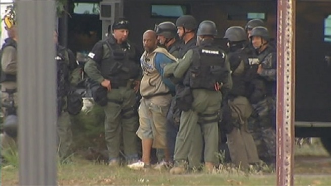Suspect in Police Standoff Captured