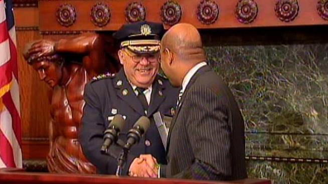 Philadelphia Police Commissioner Charles Ramsey put to rest much speculation that he would head back to his hometown of Chicago. Ramsey announced Wednesday that would be staying in the City of Brotherly Love.