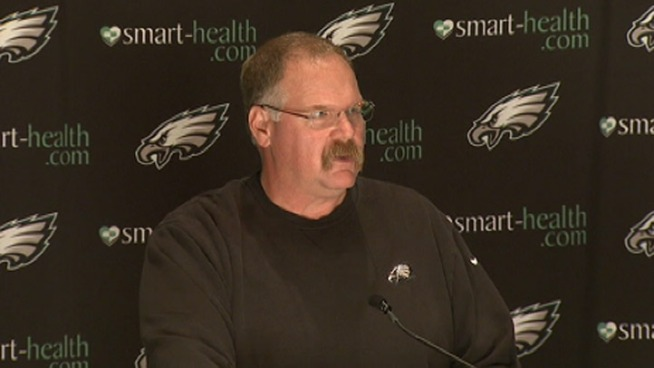 Andy Reid Takes Another Blame Bullet