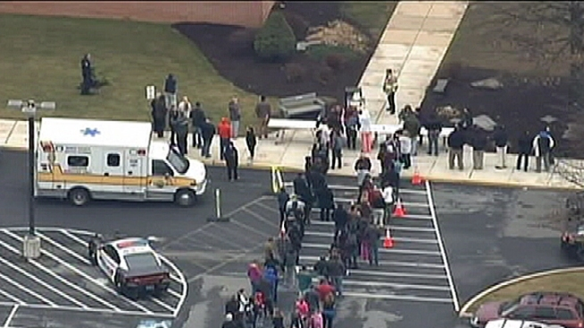 A 14-year-old male student was stabbed by a classmate at Wilson Southern Middle School in Sinking Spring, Pa. Police say the victim was targeted. NBC10's Cydney Long reports.