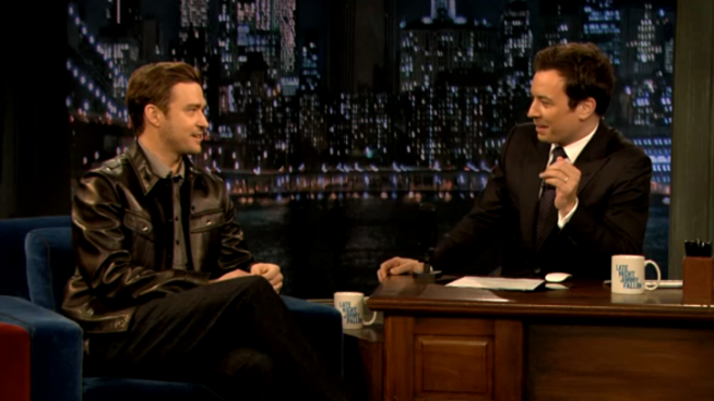 "Timberlake Talks to Fallon about ""SNL,"" New Album"