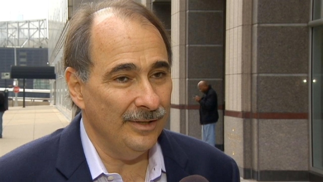 For the most part, Obama 2012 Chief Campaign Strategist David Axelrod says Election Night stress-free.