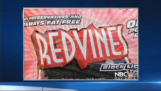 Stay away from a certain type of Red Vines licorice. That's what Dr. Ron Chapman, director o fthe California Department of Public Health said, Wednesday.