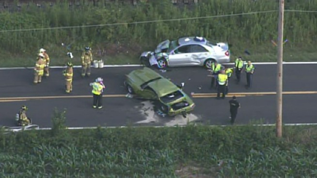 2 Seriously Hurt in Bucks County Crash