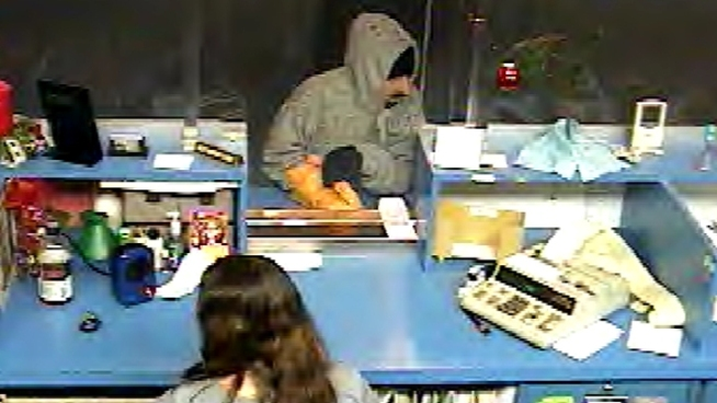 Suspect Robs NJ Bank Day After Christmas