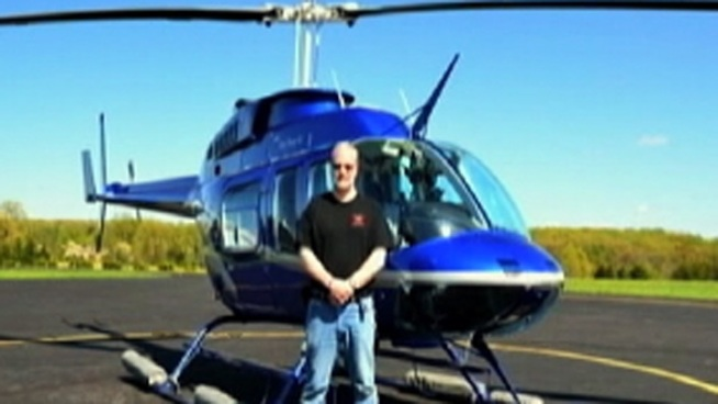 Doug Brigham a retired Pennsylvania State Police Officer died in a helicopter crash Wednesday in Bucks County. The National Transportation Safety Board is investigating the crash. NBC10's Christine Maddela