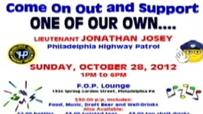 A fundraiser is being held for Officer Jonathan Josey who was suspended after knocking a woman to the ground. NBC10's Monique Braxton spoke to people for and against the fundraiser.