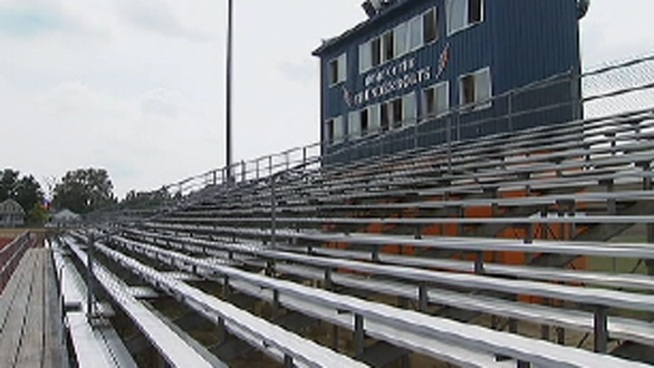 Millville High School will start imposing a stricter policy on who can come to school's football games. Starting Friday kids in 8th grade or below will not be able to enter the game without a parent or guardian. NBC10's Ted Greenberg spoke to some students about the new rule.