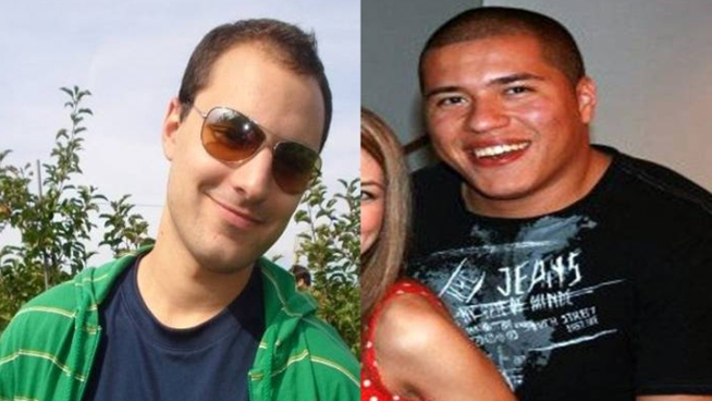 Two New Castle County men who were last seen Saturday night -- going out into the Hurricane Irene -- were discovered by police in Mill Creek Monday.