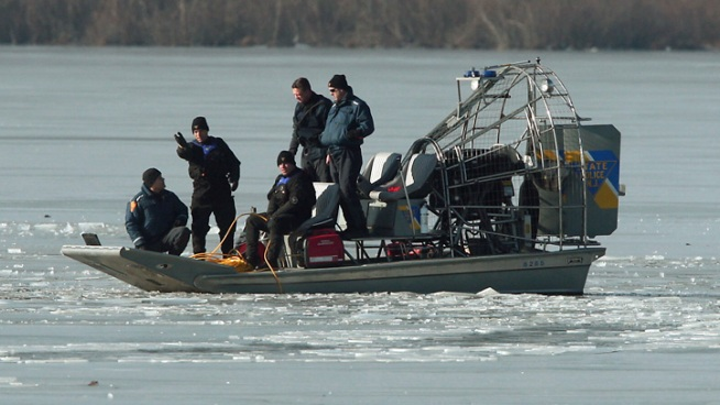 The body of a teenage boy was found Tuesday in the partially frozen New Jersey lake where he and another teen are believed to have fallen through the ice, authorities said. Ida Siegal reports.