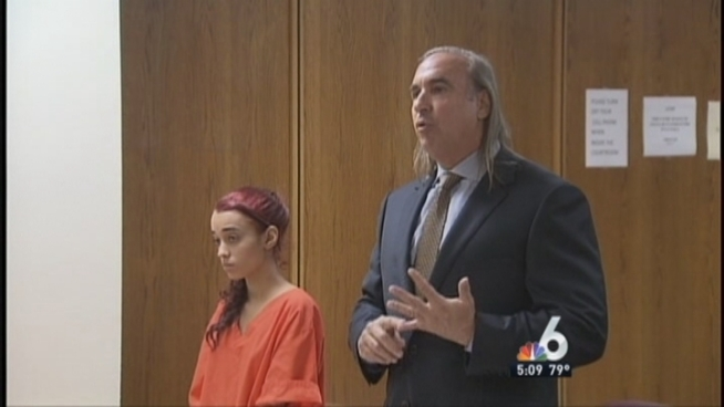 What began as a young South Florida woman s defiant profanity and waving of the middle finger to a judge earlier this week turned into an etiquette lesson Friday   when the tearful woman publicly apologized for her behavior. NBC 6 reporter Diana Gonzalez has the story.