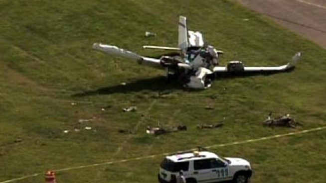 Investigators say two people were seriously injured at the Millville Airport in Cumberland County on Wednesday afternoon after a plane crash. NBC10's Monique Braxton reports.