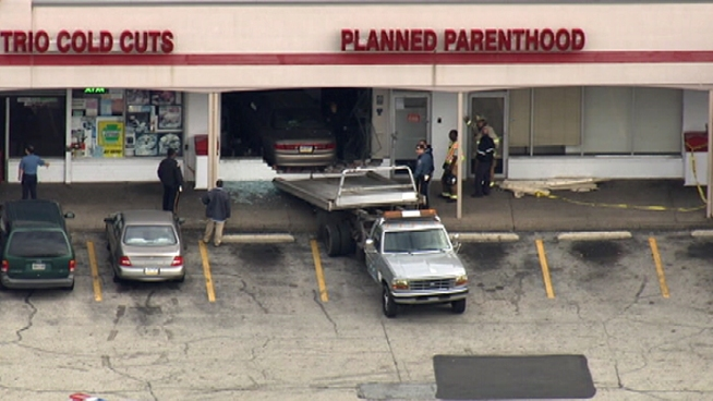 Car Crashes into Planned Parenthood