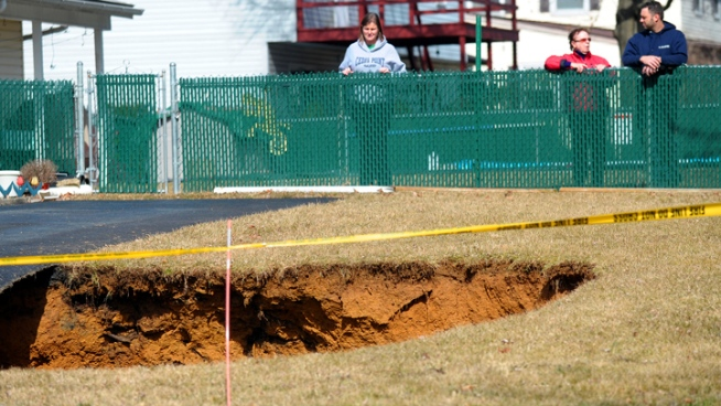 Parts of Pa. Vulnerable to Sinkholes