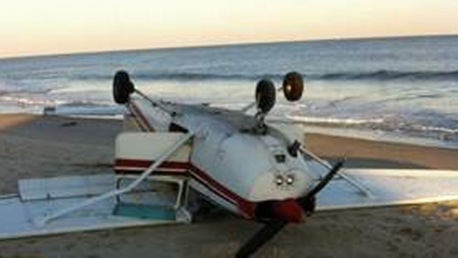 Pilot Escapes Injury in Small Plane Crash