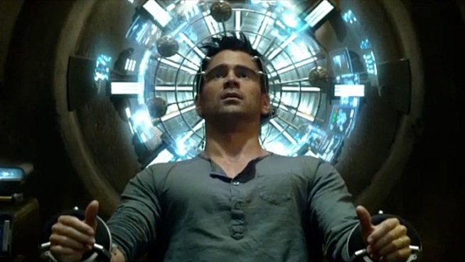 Colin Farrell stars in this remake of the Arnold Schwarzenegger classic based on a Philip K. Dick story, as a workaday hump in a dystopian future who visits a company that promises to implant his brain with more exciting memories and awakens suspecting he's a secret agent in the midst of a civil war. Opens Aug. 3.