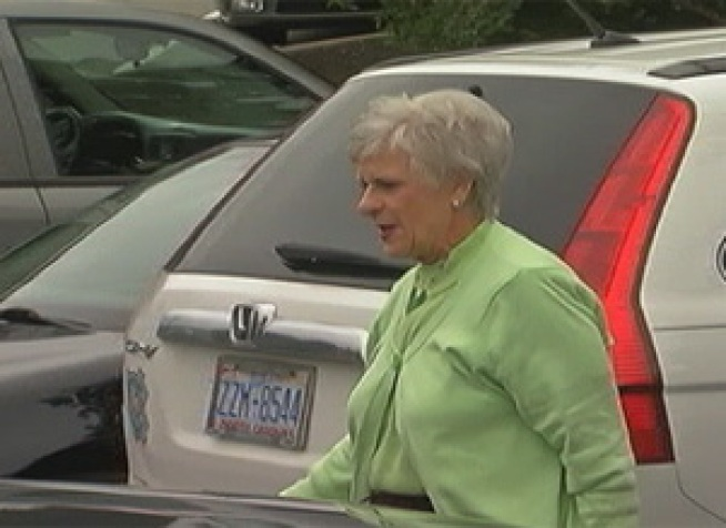 Dottie Sandusky told the court Tuesday that she never witnessed any inappropriate behavior between her husband and the alleged victims.