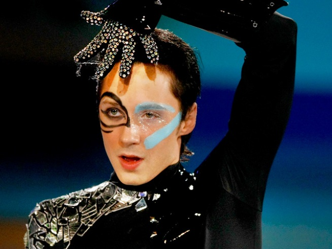 Johnny Weir: I am Flamboyant, I am Artistic, I am Different
