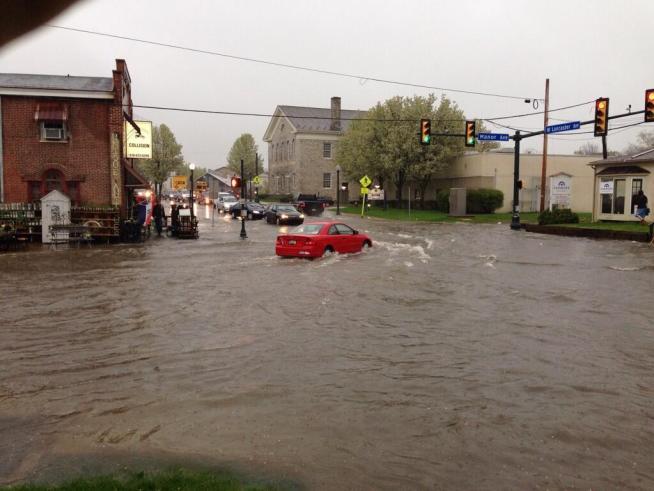 flooding road closures transit delays nbc 10 philadelphia. Black Bedroom Furniture Sets. Home Design Ideas