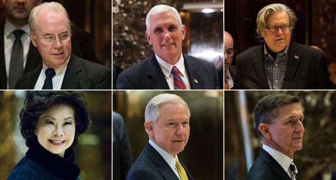 Who's Who in Trump's Brain Trust