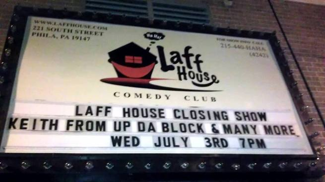 Fans, Comedians Try to Save the Laff House