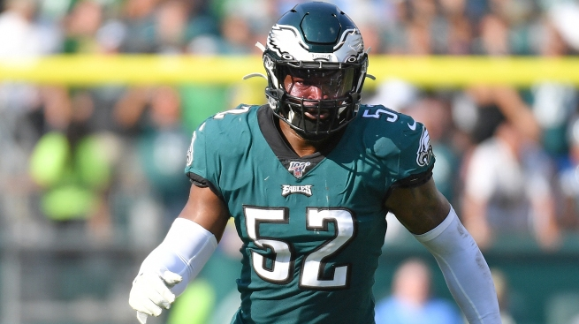 Eagles Release Linebacker Zach Brown After Ill-Fated Trash Talk