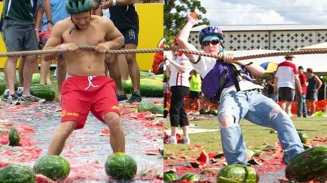 Watermelon Skiing Has to Be Seed to Be Believed