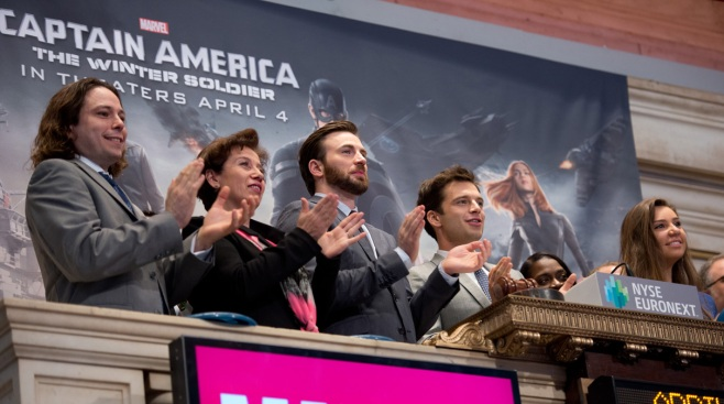 """Captain America"" Sets April Record With $96.2M"