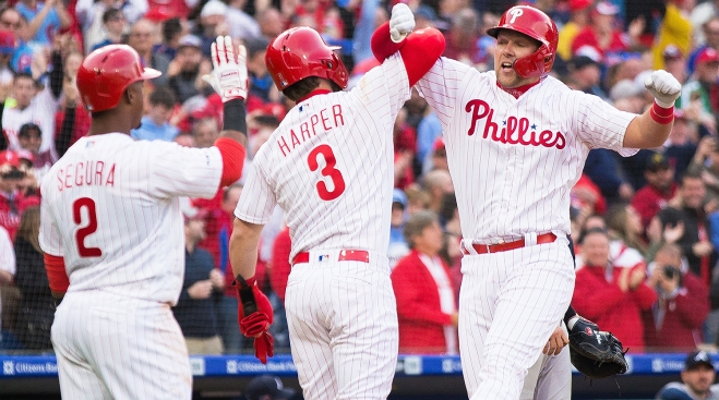 Takeaways After Phillies Hit 5 Homers - Including a Wacky One - in Win Over Braves